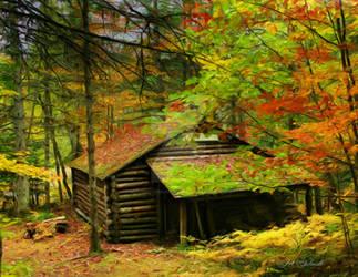 AutumnCabin-DM-2632-11149-Painting