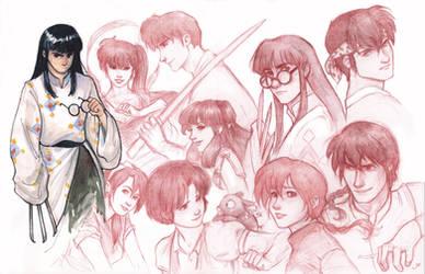 Ranma 1/2 cast by RanmaCMH
