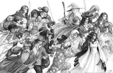 Suburban Knights by RanmaCMH