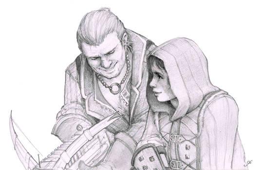 Tethras and Davri