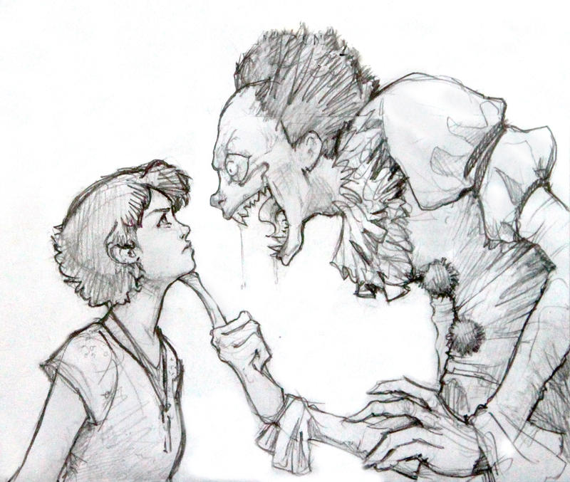 Beverly Marsh VS Pennywise the Dancing Clown by RanmaCMH