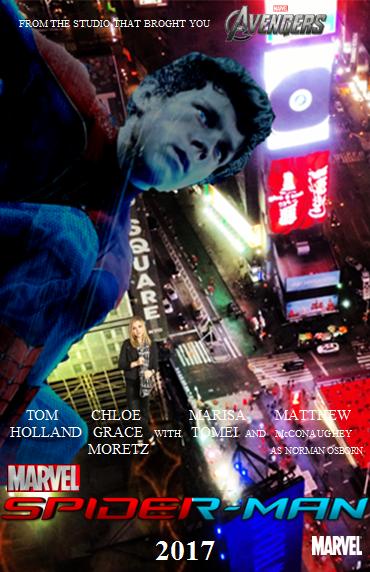 Marvel's Spider-Man 2017 poster by chocovenom on DeviantArt