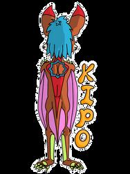 Kipo back by keskisan
