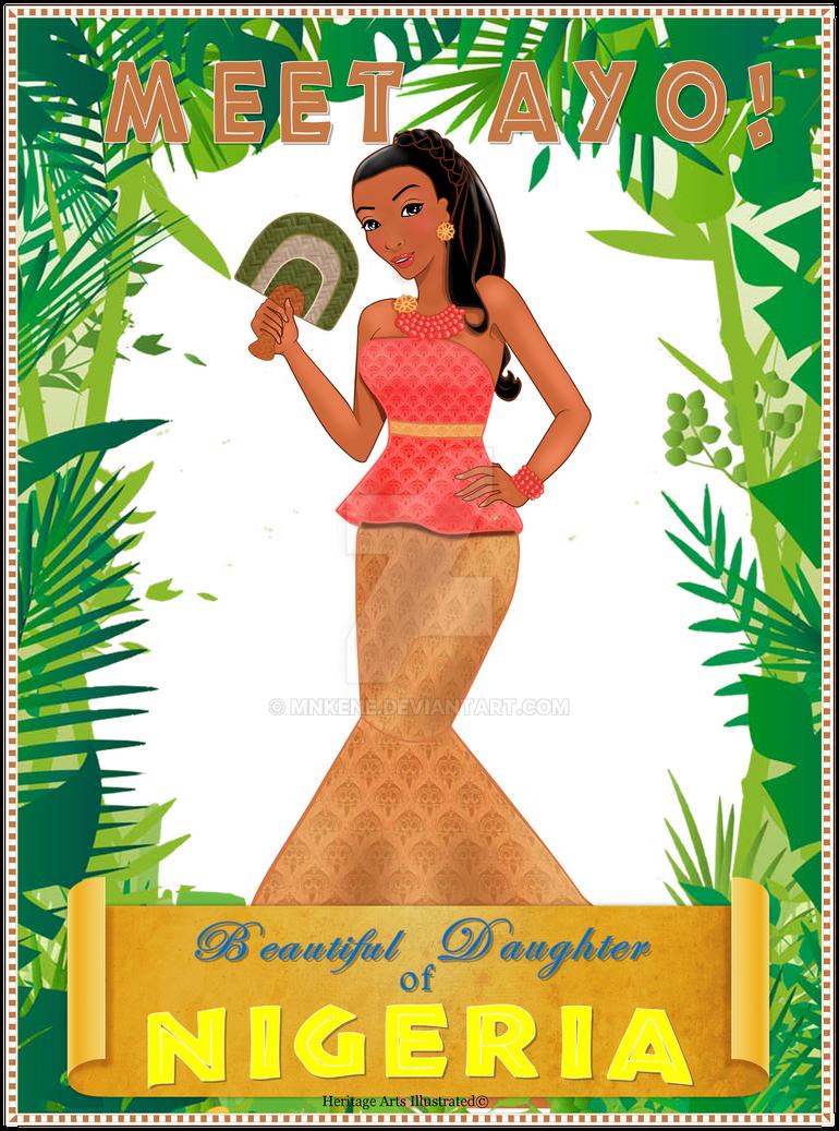 DaughterofNigeria by mnkene