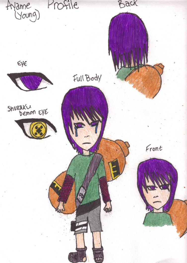 Naruto Oc Young Ayame Profile By Dark Emo Raven On Deviantart