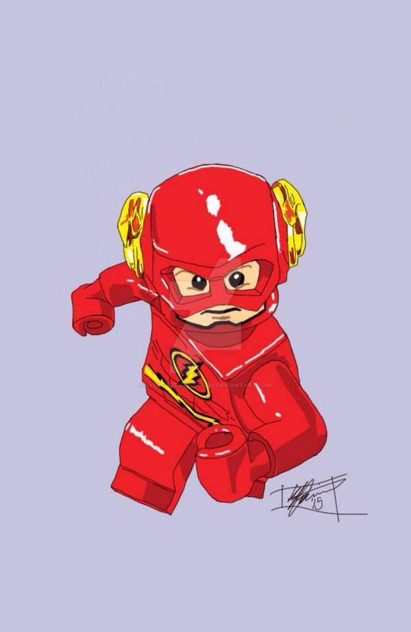 LEGO Flash by Kylefitzpatrick1986 on DeviantArt