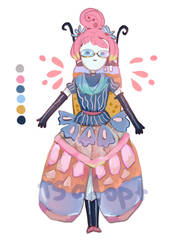 Butterfly Adoptable auction [OPEN] by PjlinaTheSilense