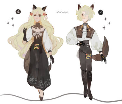 Wolf auction [CLOSED]