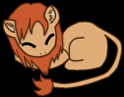 Sleepy Lion by AprilsaurusRex