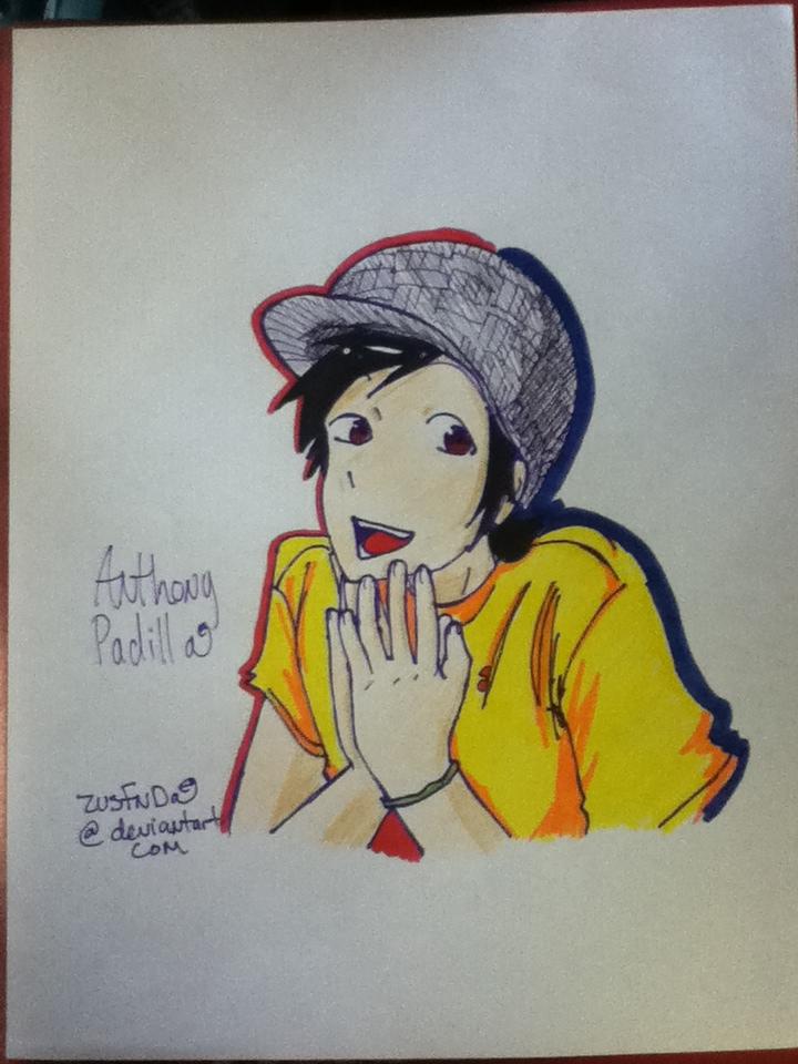 how to draw anthony padilla
