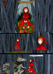 Little red riding hood by Tori-Fan