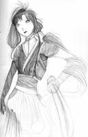 free sketch 3 - Fukuyo by Tori-Fan