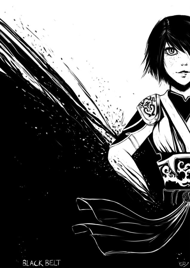 Black belt by Tori-Fan
