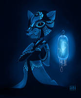 Lantern - The deer by Tori-Fan
