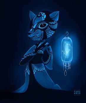 Lantern - The deer