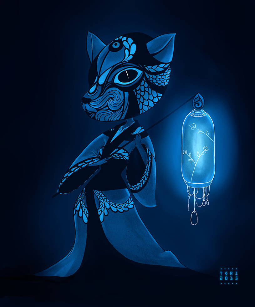 Lantern - The deer by Tori-Fan