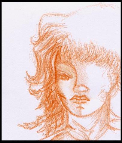 my first portrait by Tori-Fan