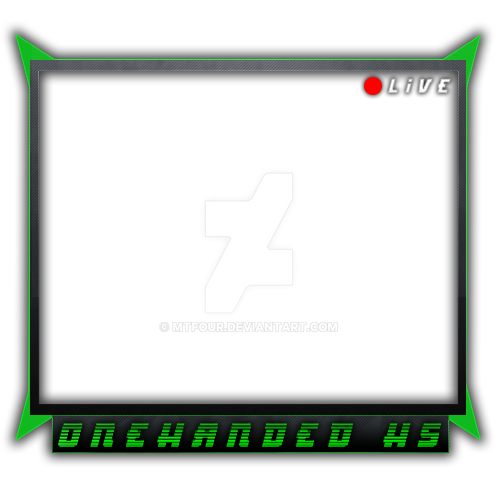 onehadedhs webcam overlay by MTFour on DeviantArt