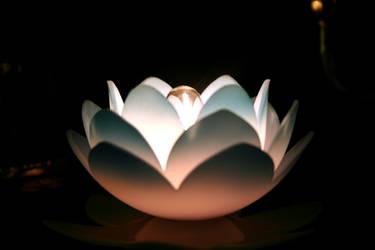 Glowing Flower by bullshitartist