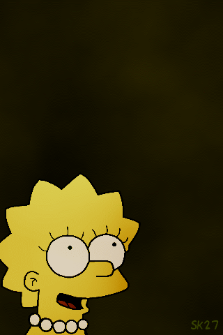 iPhone Background: Lisa by Sonickyle27