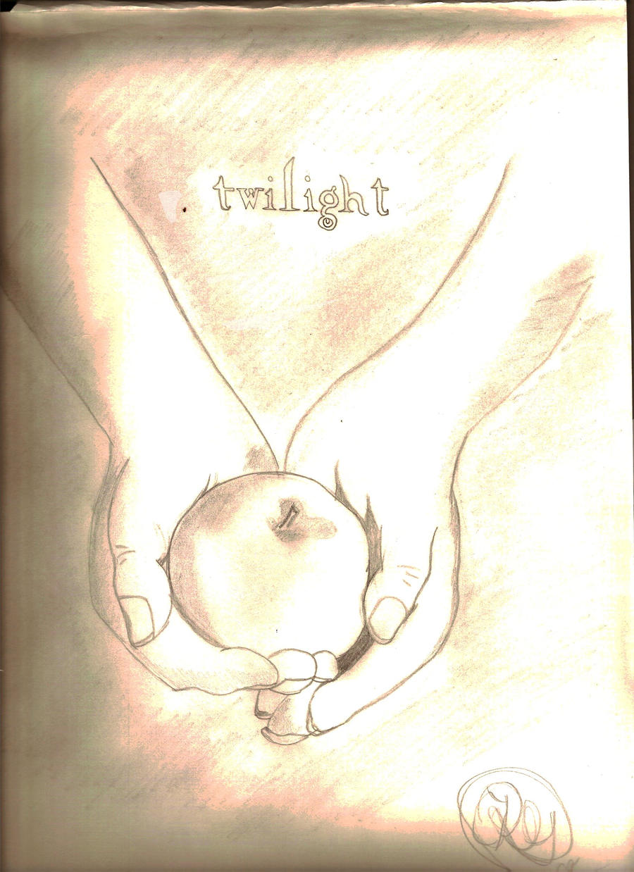 Twilight Book Cover Drawing : Twilight cover drawing by redrose on deviantart