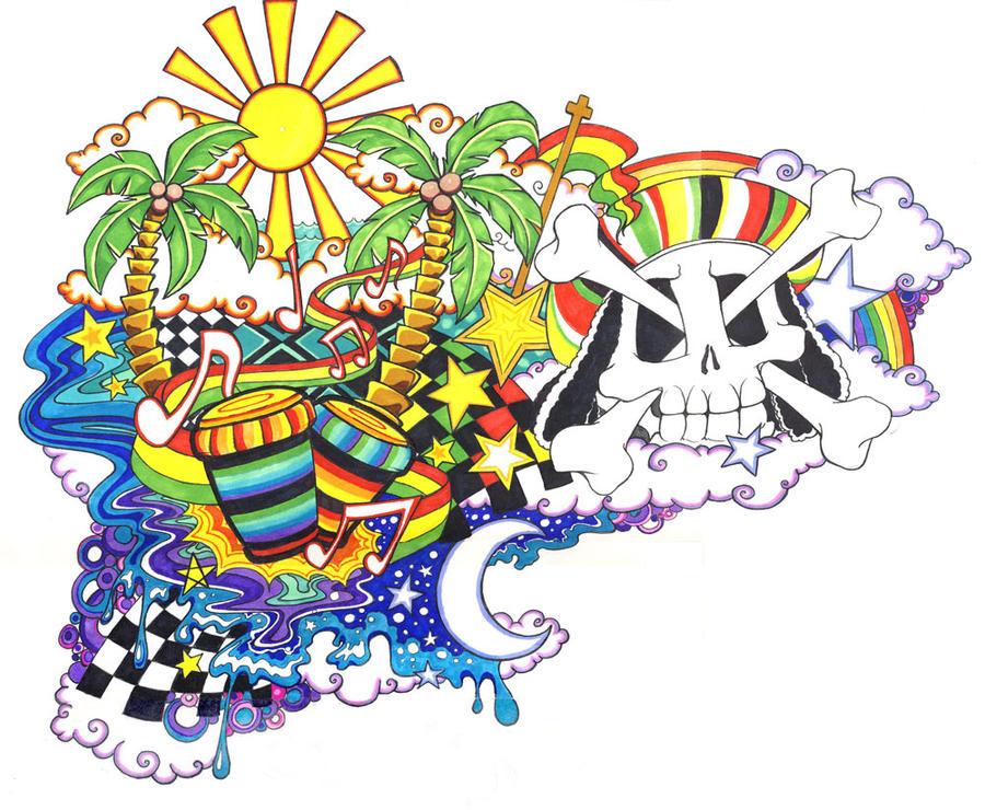 Reggae Tattoo by *Spookychild on deviantART