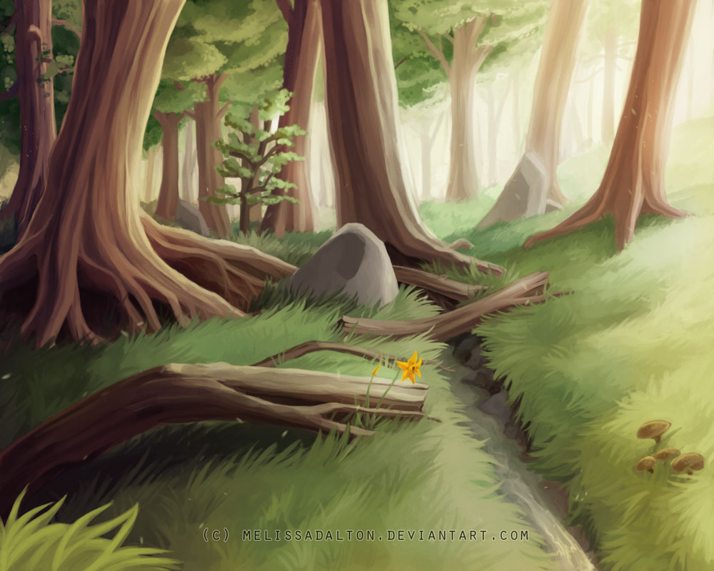 The Forest by MelissaDalton