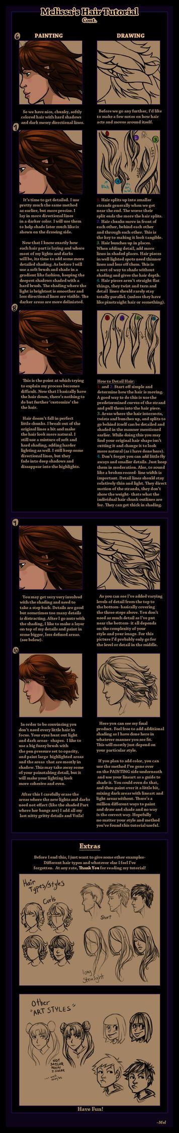 Melissa's Hair Tutorial Cont. by MelissaDalton