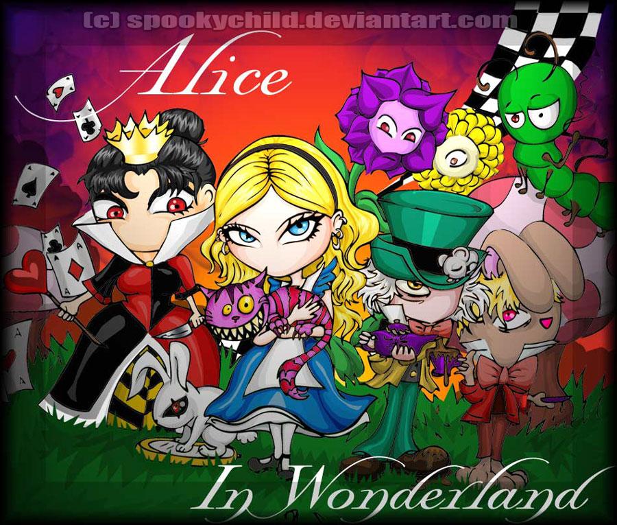 Alice in Wonderland by MelissaDalton