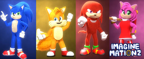 [C4D/Sonic] The Classic Band!
