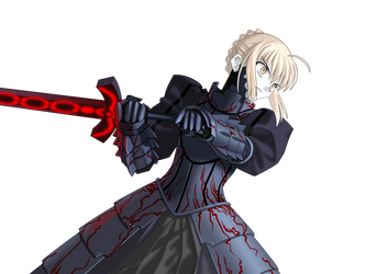Dark Saber by ChokushiNoMagan