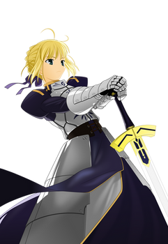 Saber from Character Material