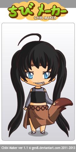 My Inuyasha Character Kogas Little Sister By Sakura19912