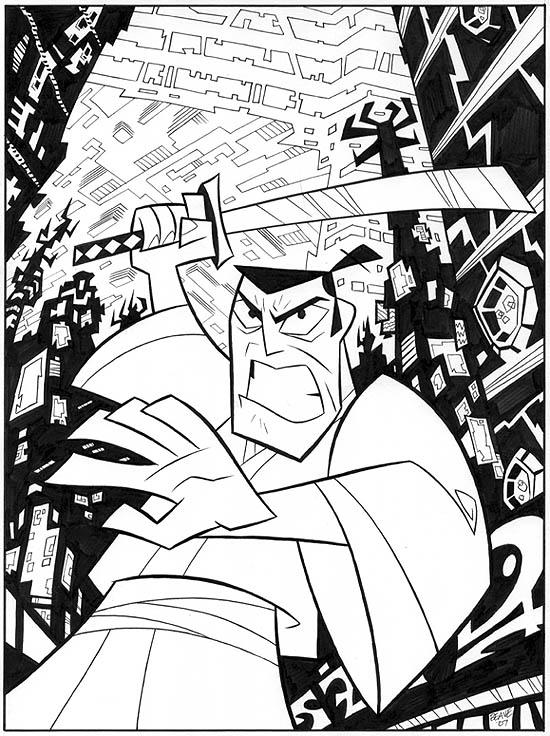 Samurai Jack 2 by cretineb