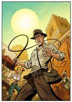 Indiana Jones Adventures by cretineb
