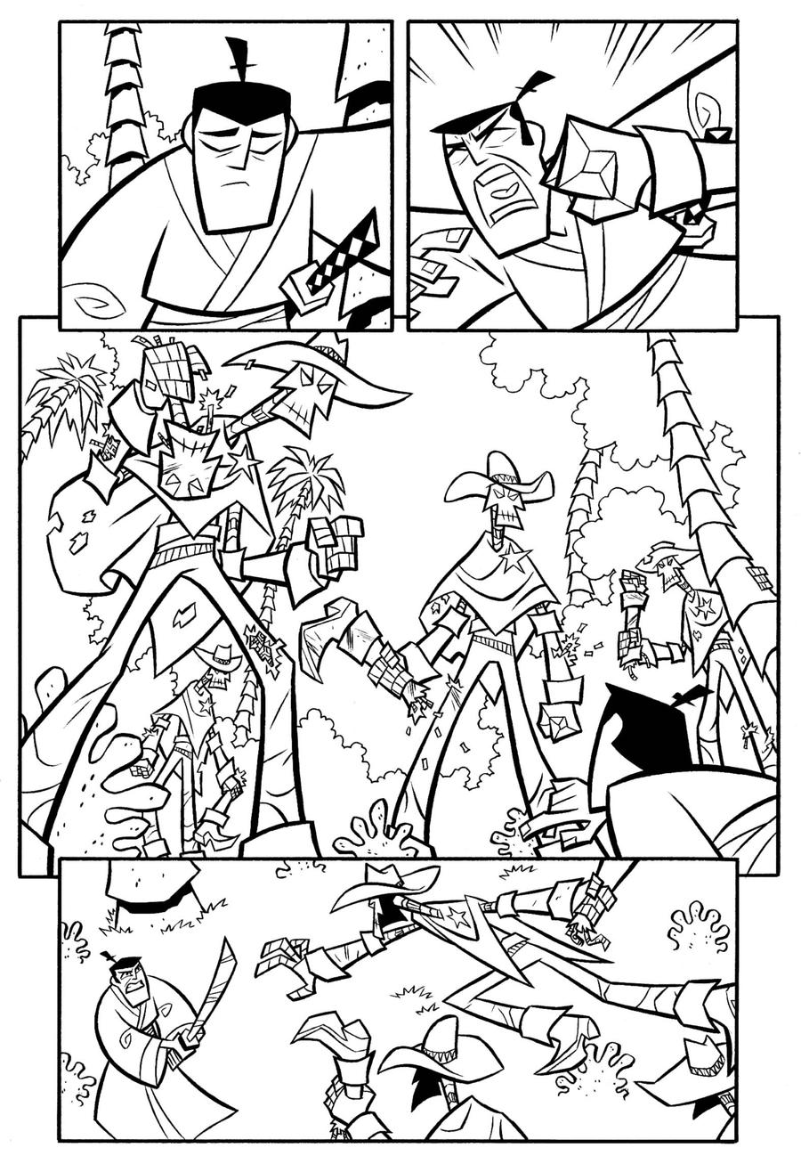 Samurai Jack Coloring Pages | Coloring Pages