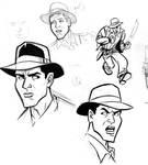 Indiana Jones Sketches 3