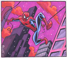 Spiderman Card 2 by cretineb