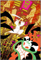 Samurai Jack #1 Exclusive Cover by cretineb