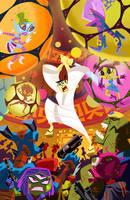 Samurai Jack Classics Vol 2 Cover by cretineb