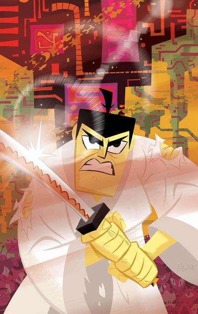 Samurai Jack #17 Unused by cretineb