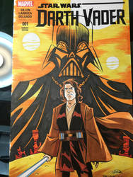 Anakin Vader Sketch Cover
