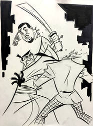 Samurai Jack vs Kanye West is an Android by cretineb