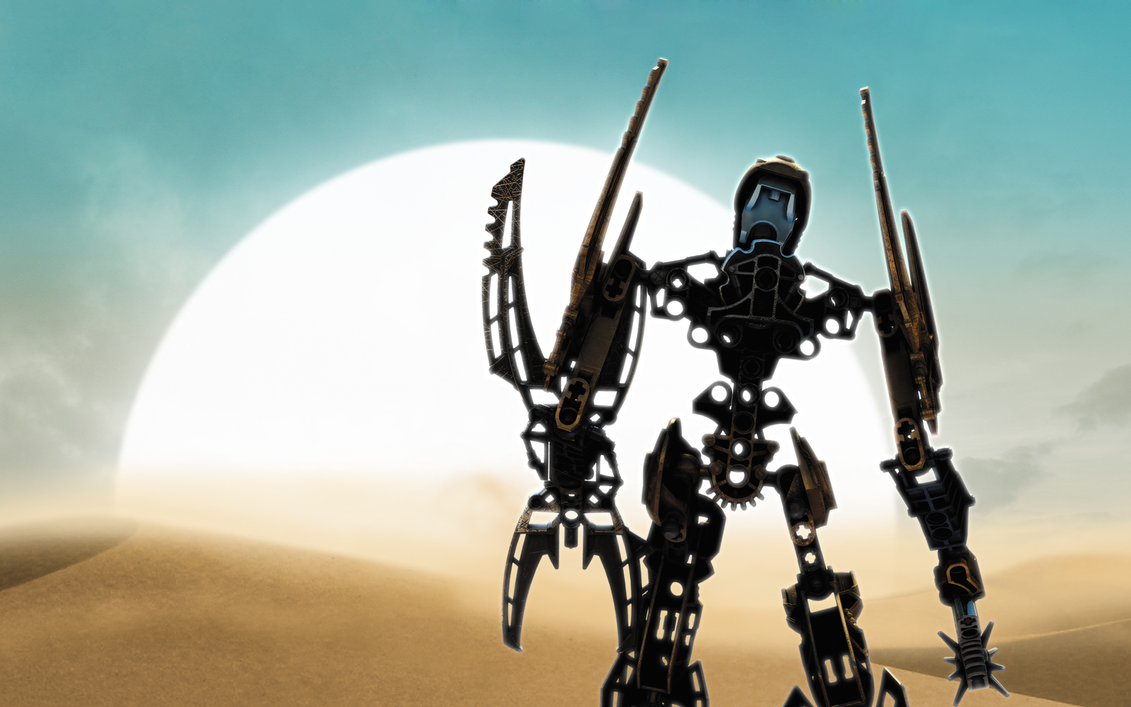 1920x1200 BIONICLE The Legend Reborn Toa Mata Nui By BioMediaProject