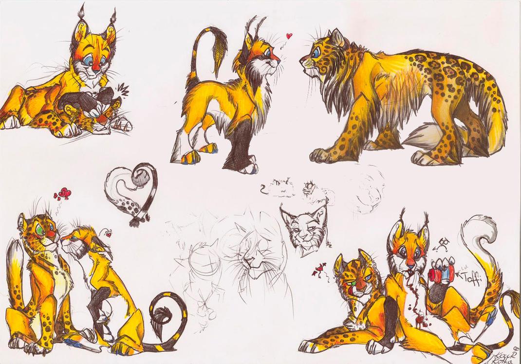 purrr cats by Mazakdupa