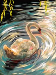 swan by NekoKawaiiNya