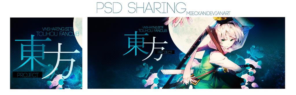 [PSD Sharing] Touhou by MieCkan