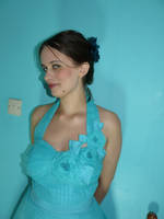 Turquoise 1 by Teal-Roses-Stock
