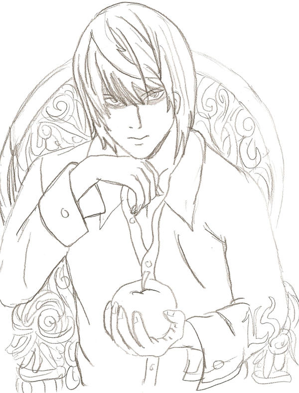 deathnote coloring pages - photo#41