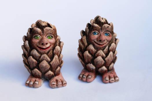 Cone Trolls - Sissel and Oscar